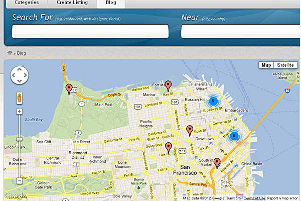 Vantage Google Map Plugin Image 1 - Premium WordPress Themes ...